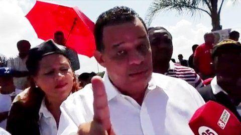 """Luisín Jiménez: """"El que me ganó con fraude que no vaya al Congreso Nacional a sentarse en mi curul porque ese día hay un funeral"""""""
