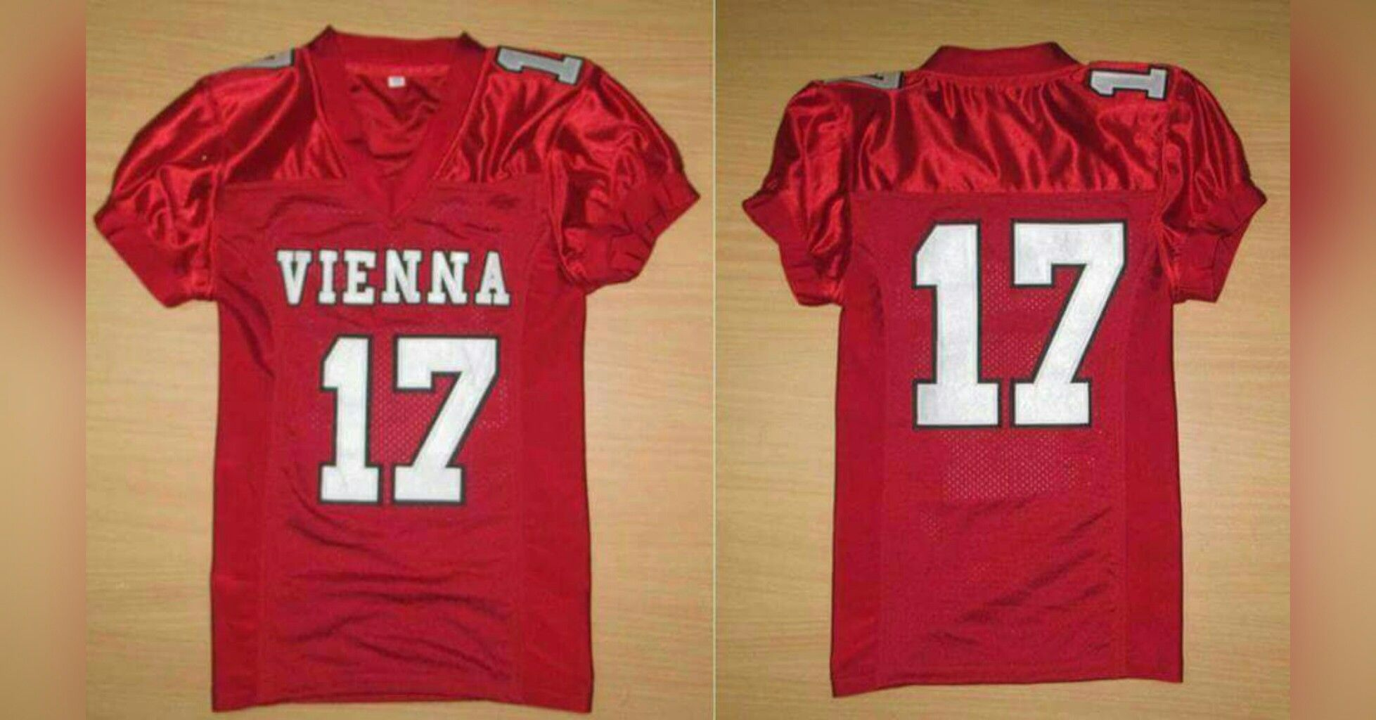 1640bbdc344 Sublimated football jersey at $24. Dazzle, 11 holes mesh | American ...