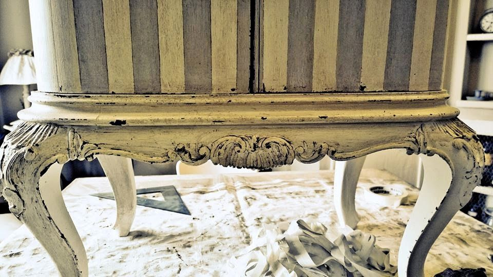 Mobili Chippendale ~ Passione shabby il restauro dei comodini chippendale prima e dopo
