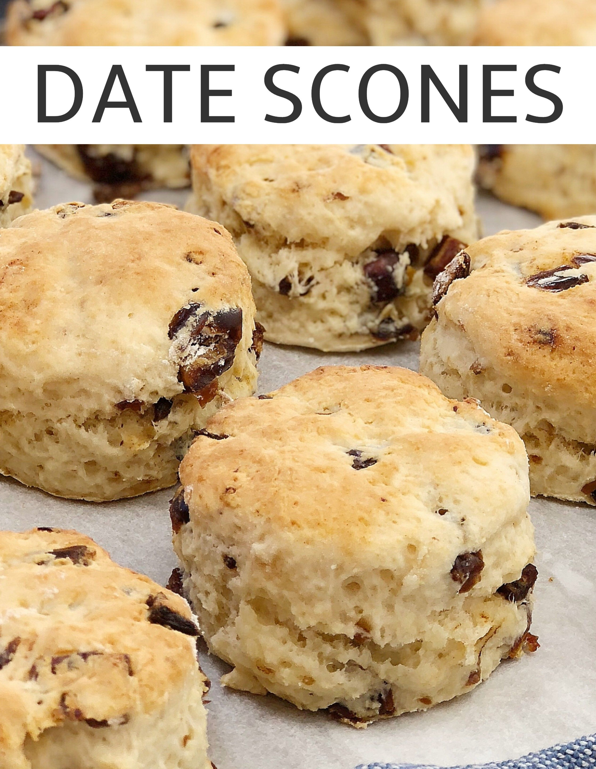 Easy Date Scones Chef Not Required Recipe In 2020 Date Scones Scones Easy Recipes