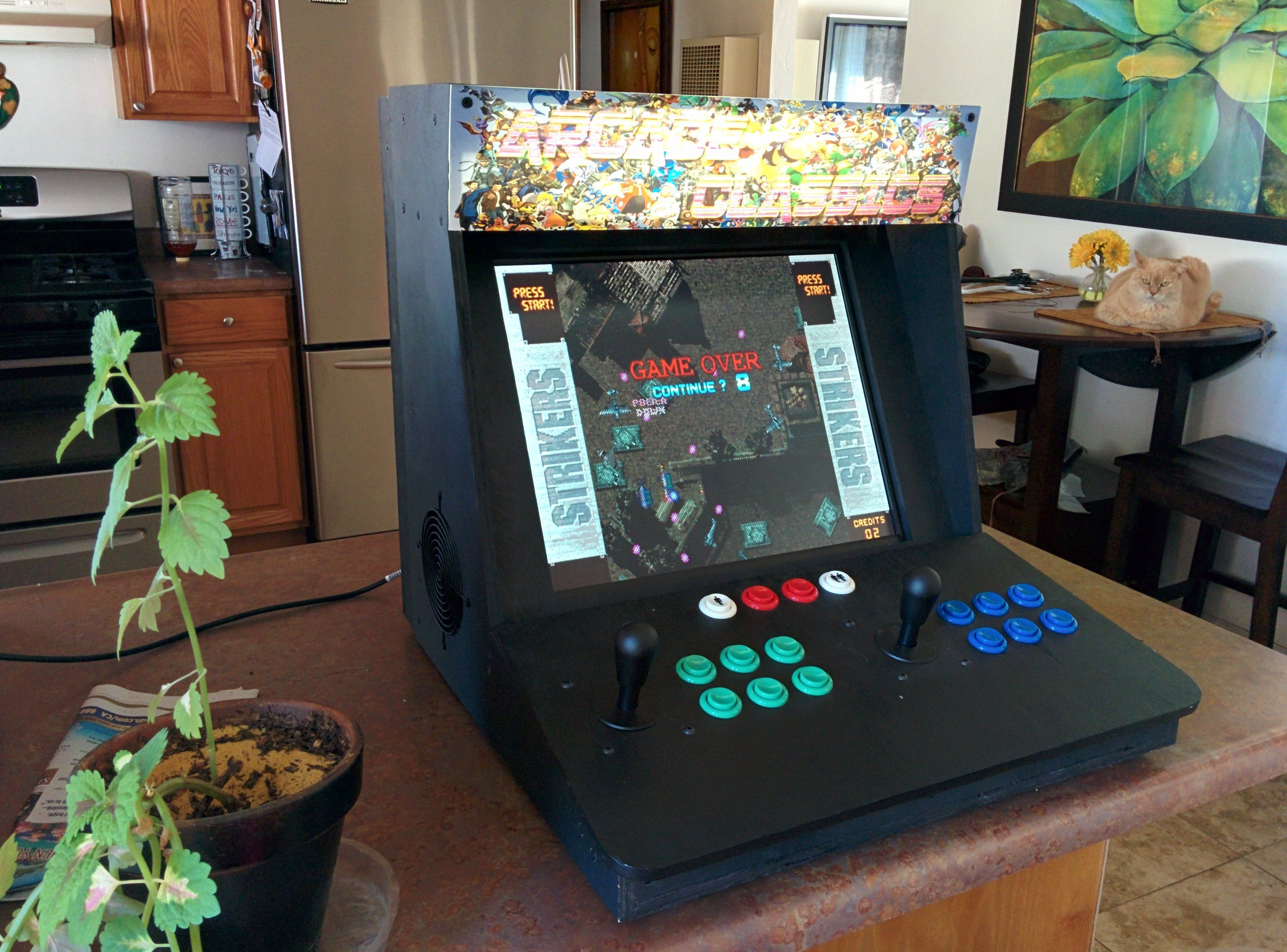 Take an unwanted desktop PC and build a bartop arcade gaming cabinet out of the parts. & Make a Bartop Video Arcade from an Old PC | Pinterest | Arcade and PC
