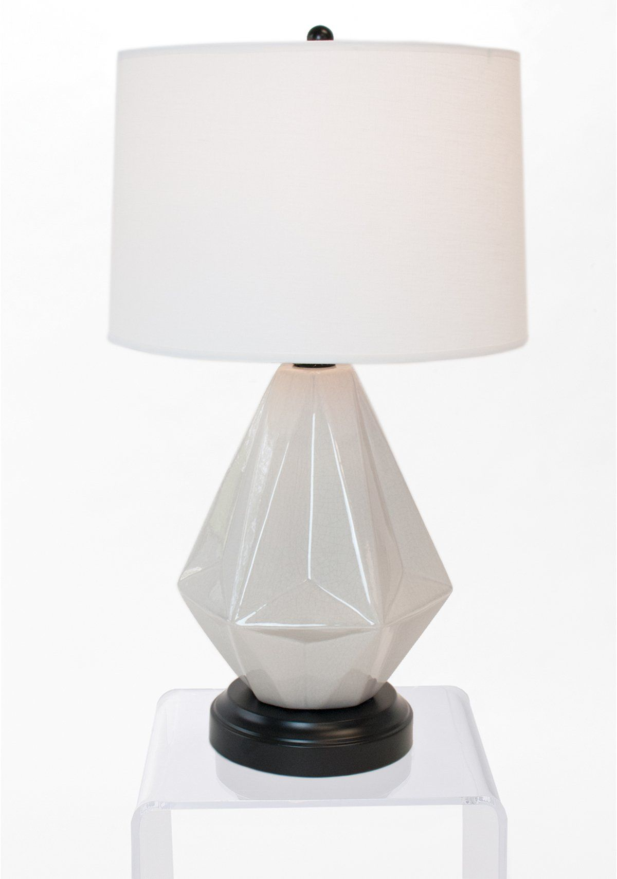 Prisma Gray Cordless Lamp Made In The Usa Cordless Lamps