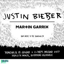 Justin Bieber + Martin Garrix - Biglietti