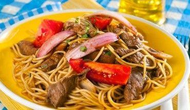 Recetas Cocina Peruana | Receta De Tallarin Saltado Criollo Peru Pinterest Recetas