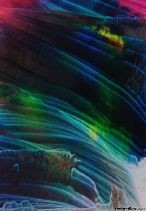 Aurora Borealis By Cyrene Swallow