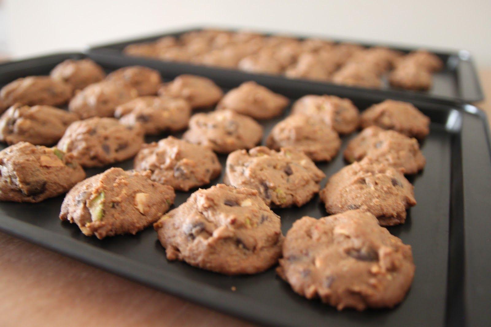 Biskut Coklat Cip Resep Makanan Hidangan Penutup Kue Kering