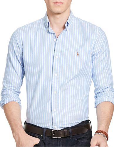POLO RALPH LAUREN Polo Ralph LaurenStriped Oxford Shirt. #poloralphlauren #cloth #