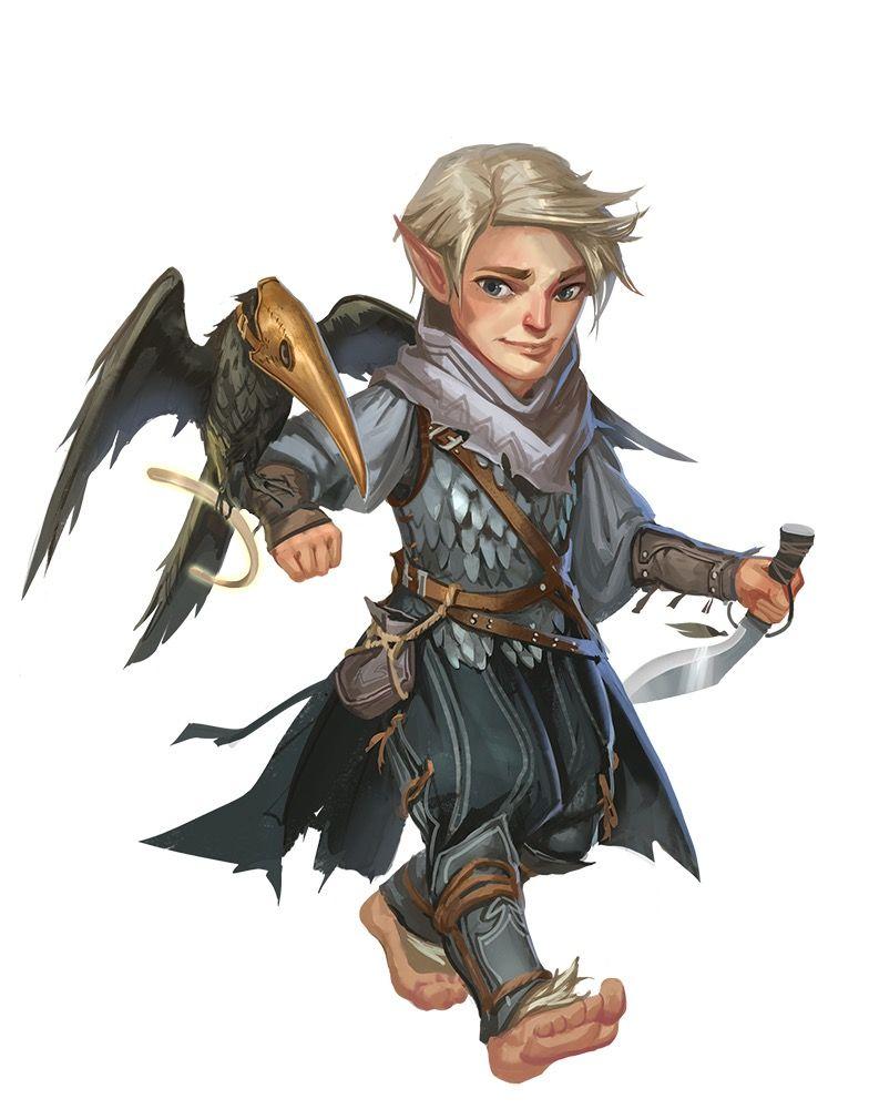 Blonde Character Inspiration: Bauto Hairyfoot, The Petty Crow, Hobbit, Adventurous Thief