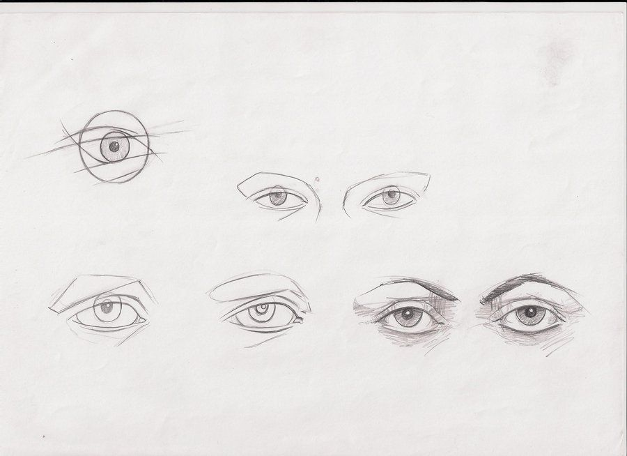 ways to draw eyes 2 by ultraseven81 on DeviantArt