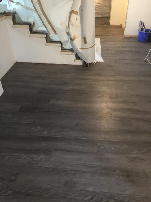 Amtico Dark Wood Installation Client Private Residence In South