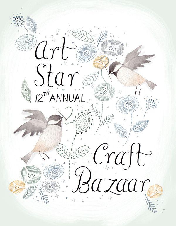 Art Star Spring Poster by Julianna Swaney