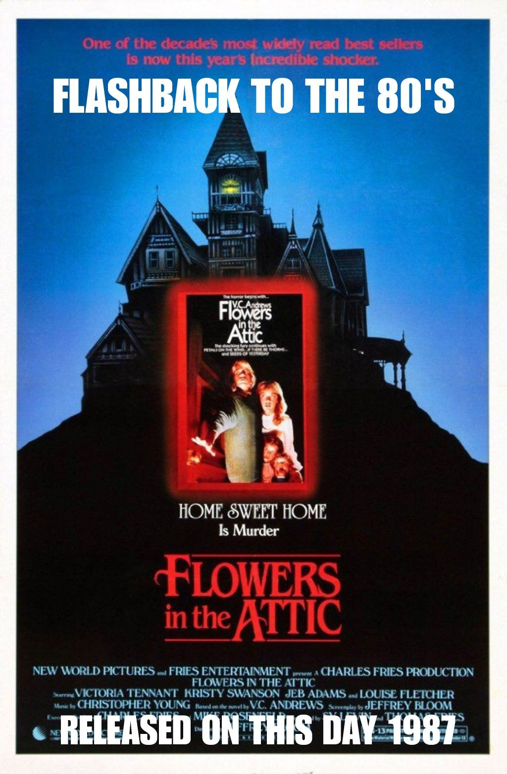 Pin by dia on NOV FB2T80S MOVIES Flowers in the attic