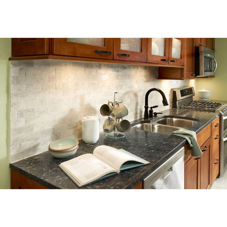 Kitchen Granite Wall Tiles: Shop Allen + Roth Venatino Polished Natural Stone Mosaic