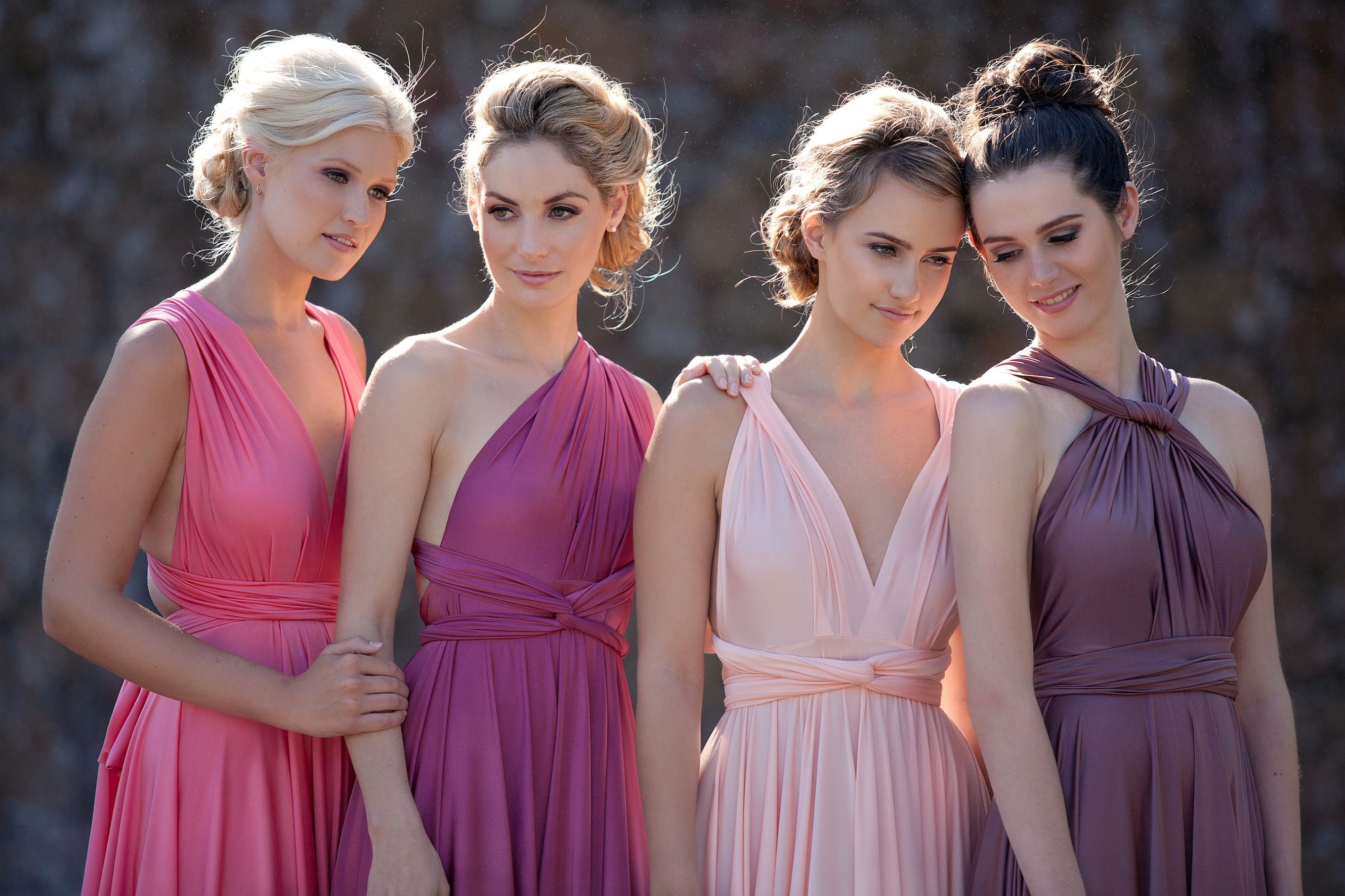 Pink multiway bridesmaid dress  Our Stunning Signature Multiway Bridesmaids Dresses  Goddess By