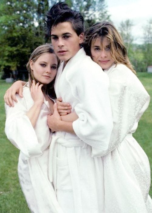 Jodie Foster, Rob Lowe and Nastassja Kinski ~ 1983 (With ...