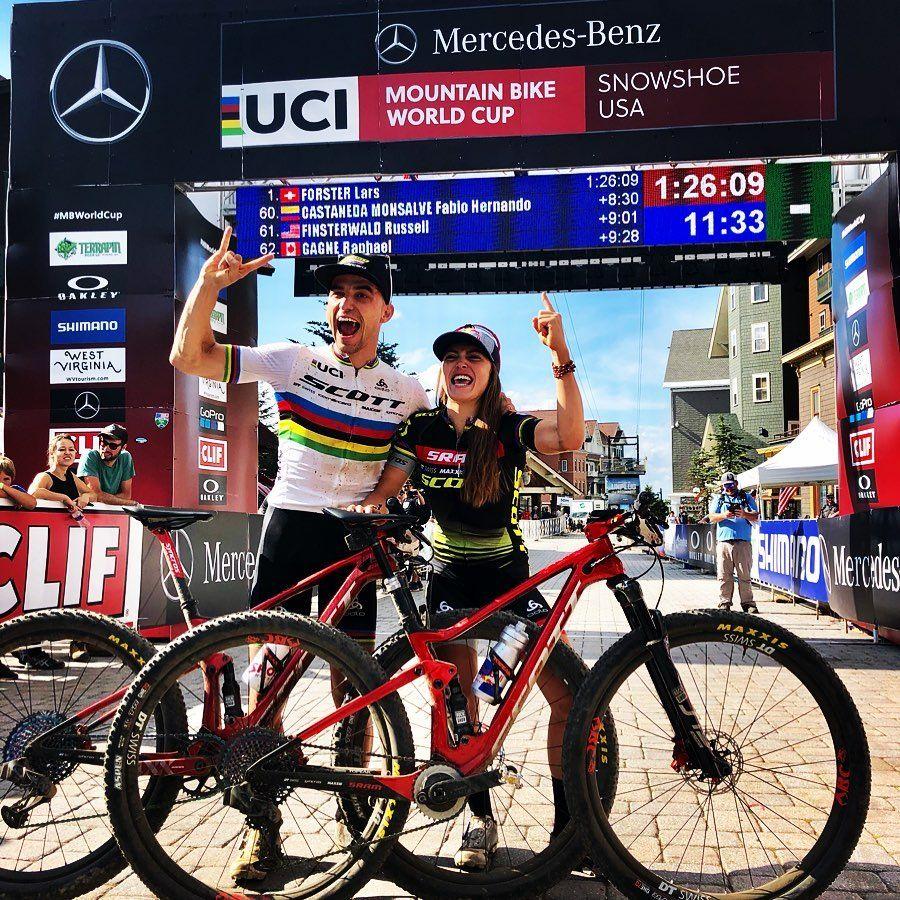 Coppa Del Mondo Xco 7 Finale Al Cardiopalma A Snowshoe Con Lars Forster Vincitore E Titolo A Nino Schurter Mtb Vco Com Nel 2020 Snowshoe Coppie Mountain Bike
