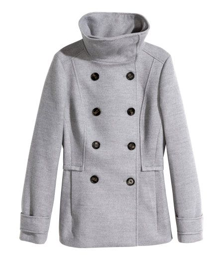 H&M Coat in Grey