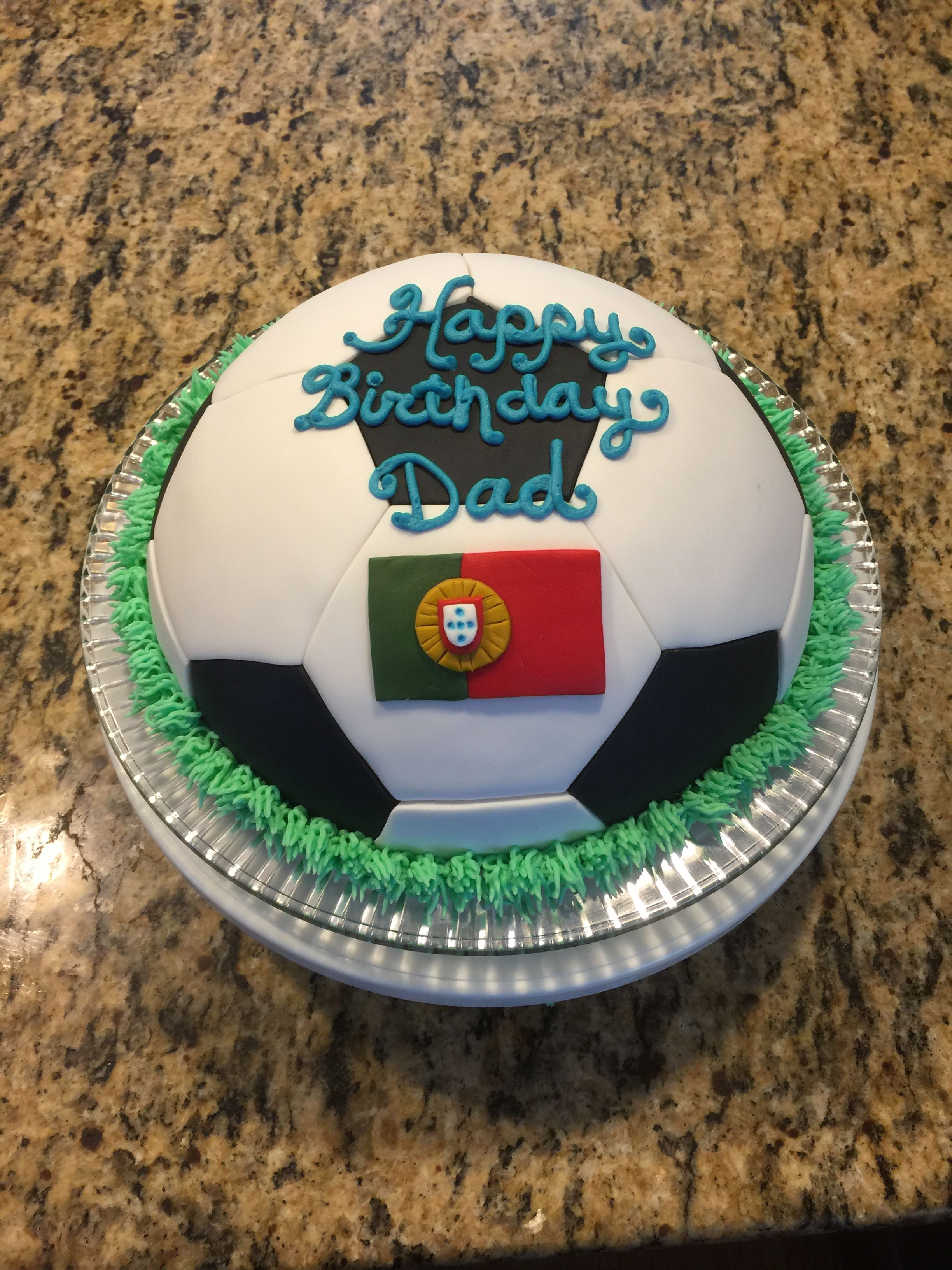 Portuguese Soccer Ball Birthday Cake Cakes I Have Made