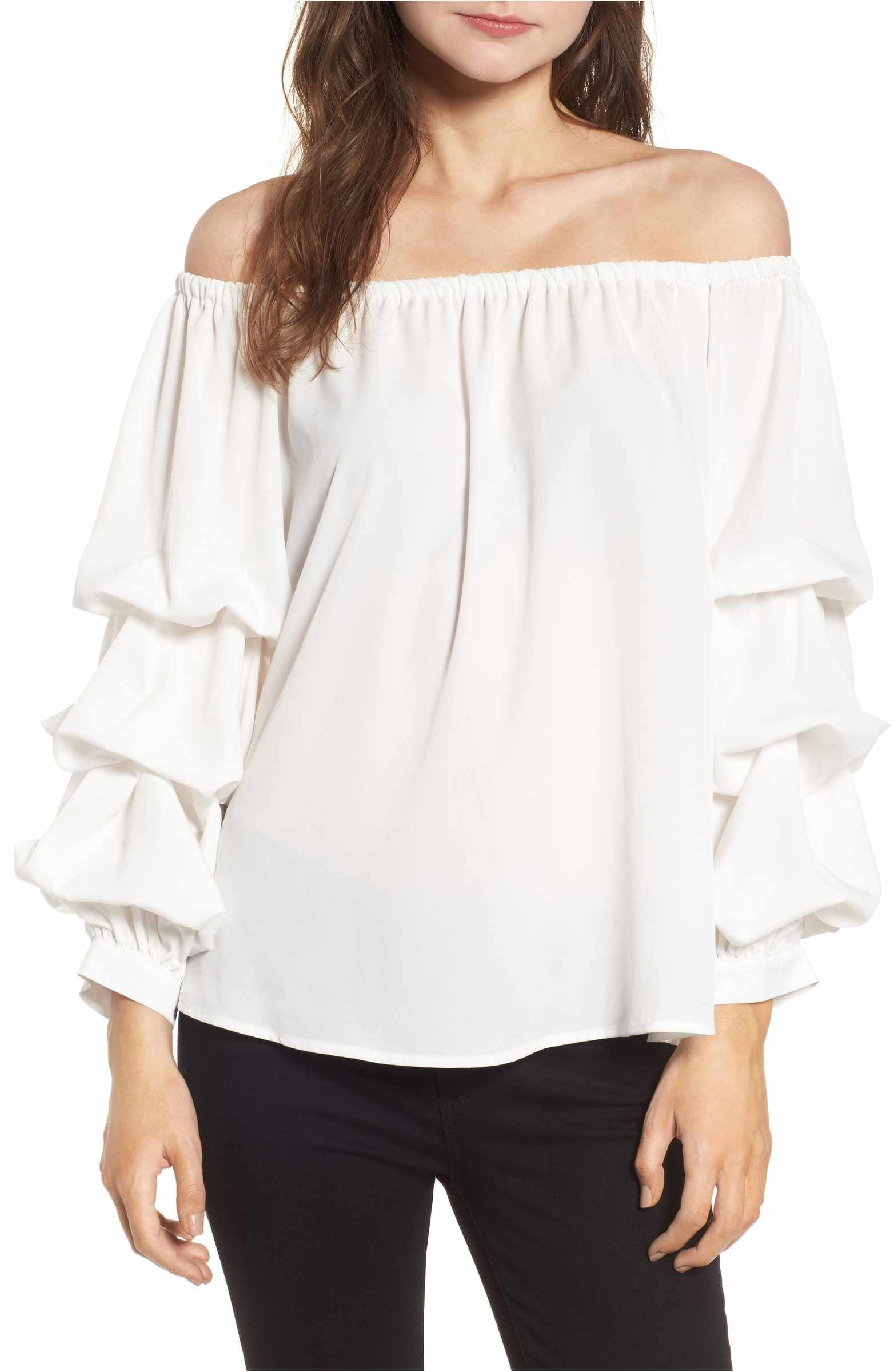 e53492e41c7f19 Main Image - Chelsea28 Off the Shoulder Top | Shopping | Tops, Off ...