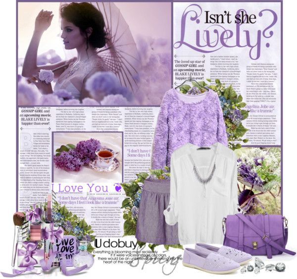 """Love Spring Purple"" by siska-w on Polyvore"