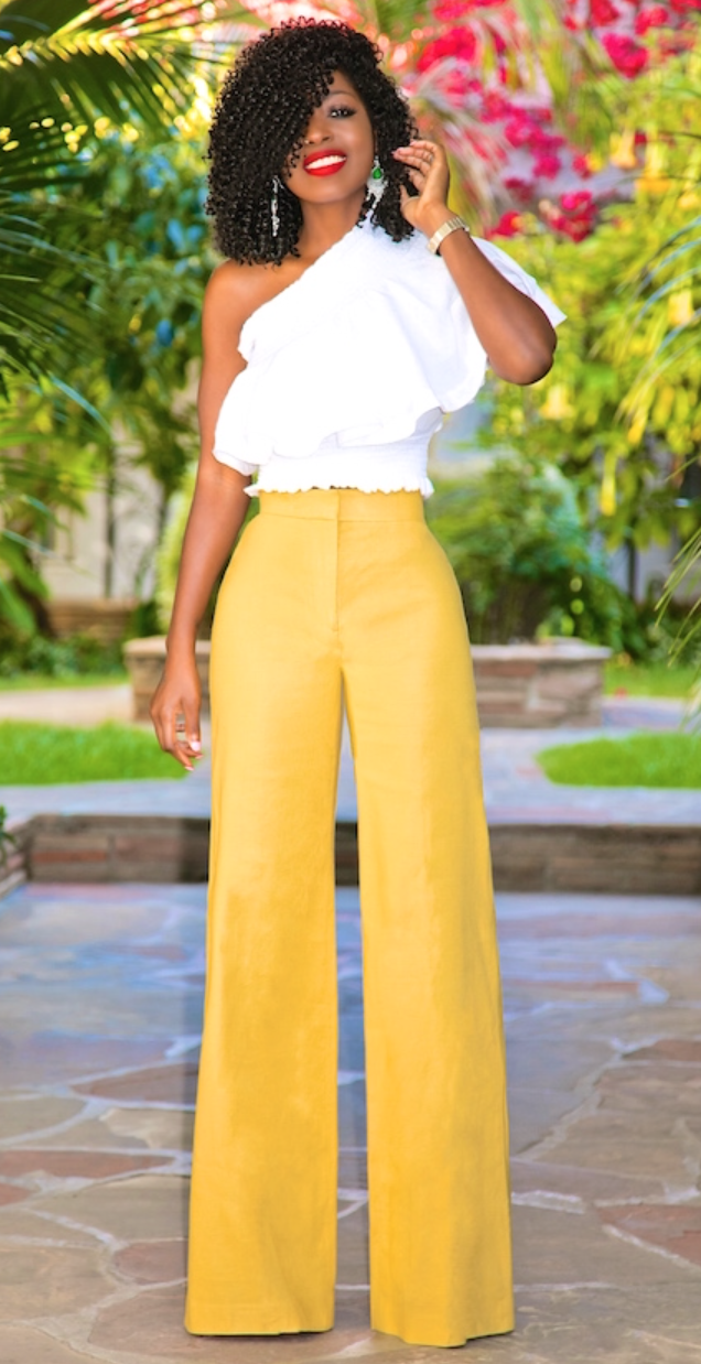 One shoulder top | Women's fashion | Pinterest | Primroses ...
