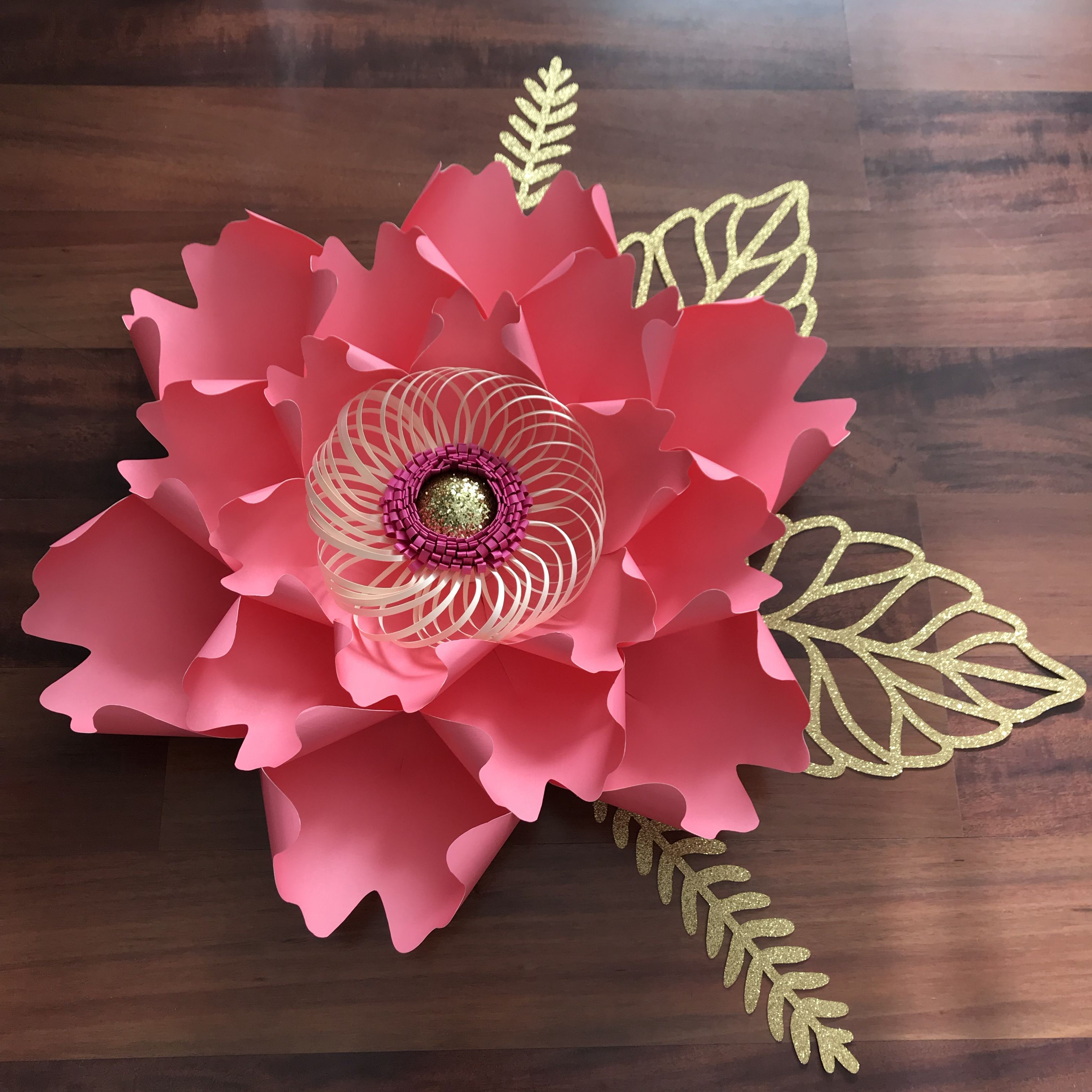 Heres petal 13 from the crafty sagittarius instant download paper flower mightylinksfo