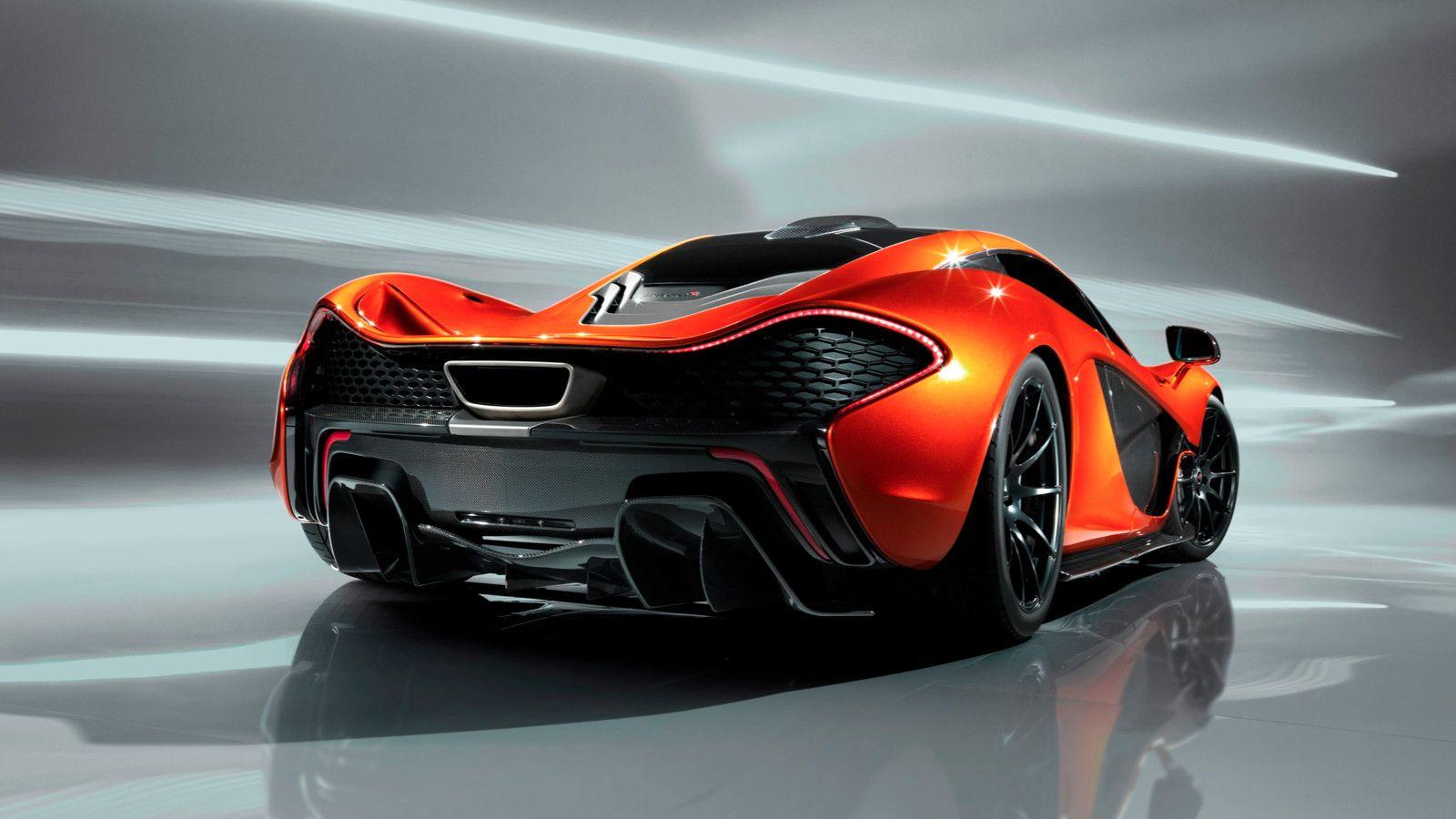 Mclaren P1 Rear View Sports Cars Luxury Mclaren P1 Dream Cars