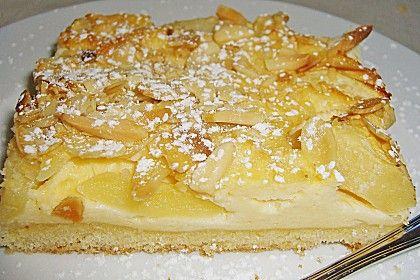 Apfel - Käsekuchen vom Blech 2