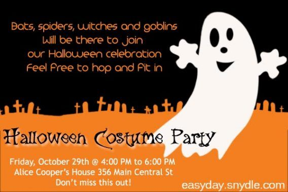 Party halloween party invitation wording is the best theme to forge party halloween party invitation wording is the best theme to forge your chic party invitations stopboris Image collections