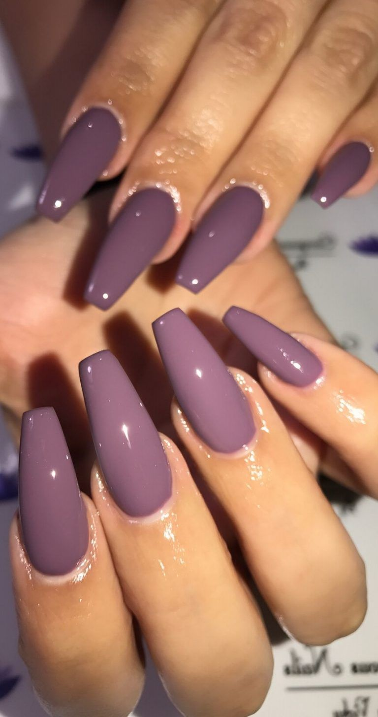 24 Acrylic Coffin Nail Designs to Enhance Your Features - Love Casual Style