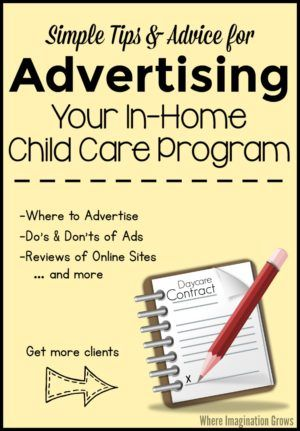 Advertising Your Family Child Care Program LightHouse Child Care