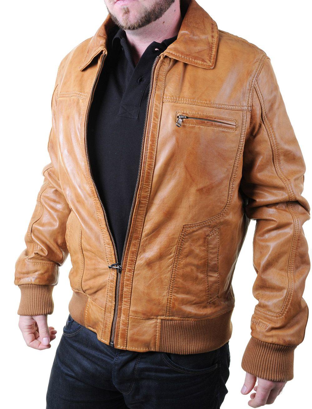 veste en cuir redskins homme cayenne rivoli marron cognac prix 322 euros tailles disponibles. Black Bedroom Furniture Sets. Home Design Ideas
