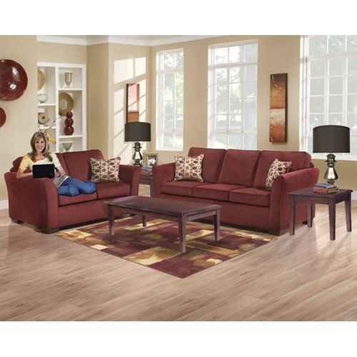 United Furniture Malibu Wine Living Room Group