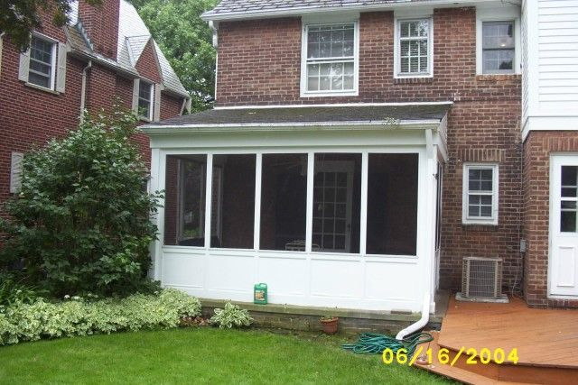 Charming Patio Enclosure Leading To Back Yard And Porch. Fairview Home Improvement  Services The Greater Cleveland