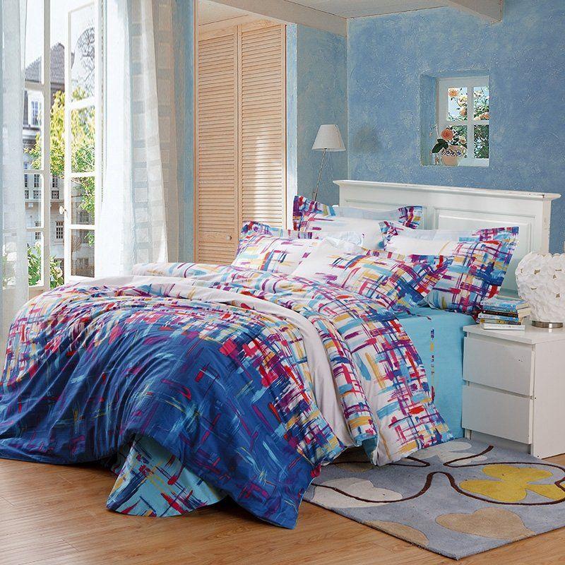 Colorful Paint Splatter Bedding Bedspread Bedroom Sets Bedding Sets Bedroom Decor Design Bed