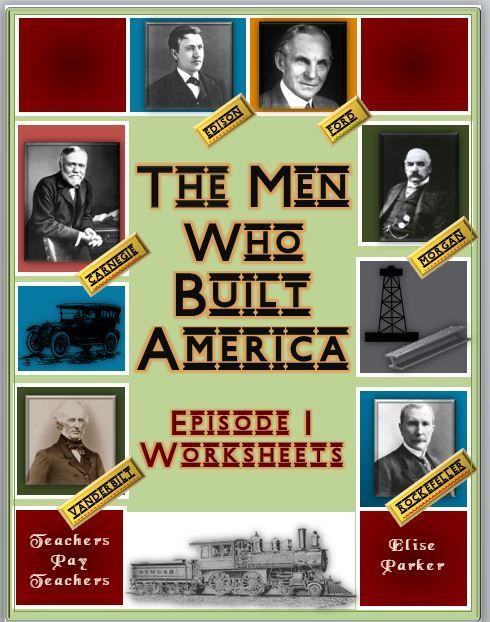 The men who built america episode 1 worksheets worksheets easy to correct worksheets designed to go with the men who built america a highly engaging history channel series covering the industrialization of the fandeluxe Images