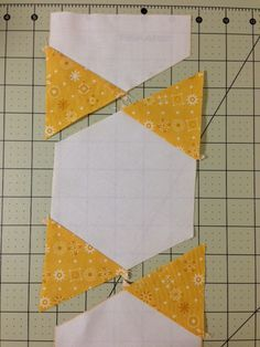 Easy Hexagon Star Quilt