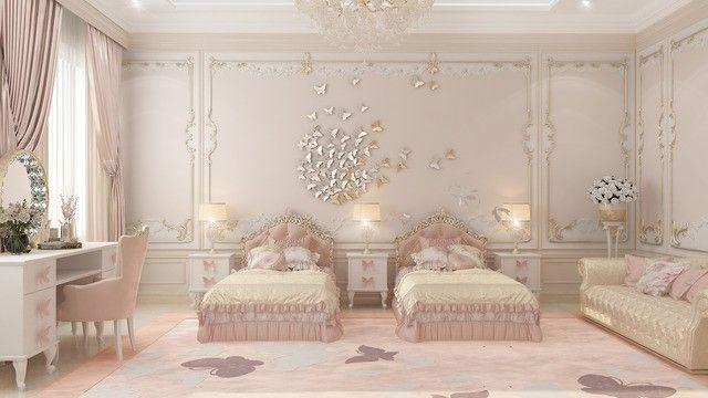 Beautiful Bedroom For Girls Modern Luxury Bedroom Twin Girl