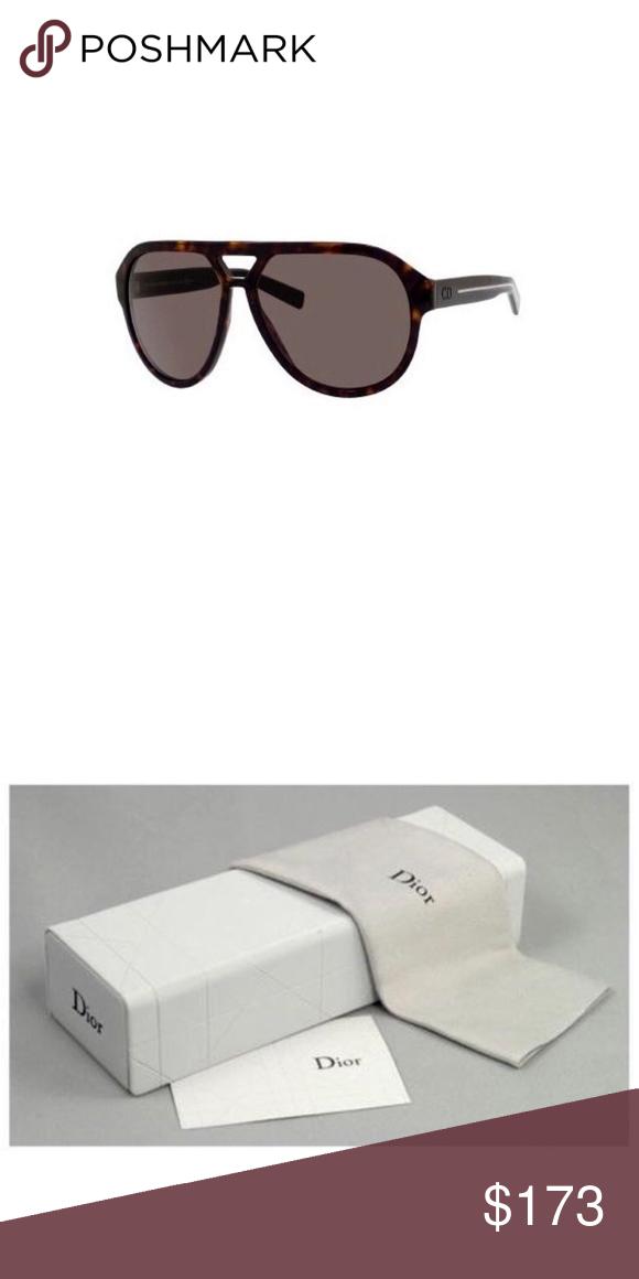 c3d3d8e362f89 Christian Dior   Dior Homme Dark Havana Sunglasses 100% Authentic Christian Dior  Sunglasses!