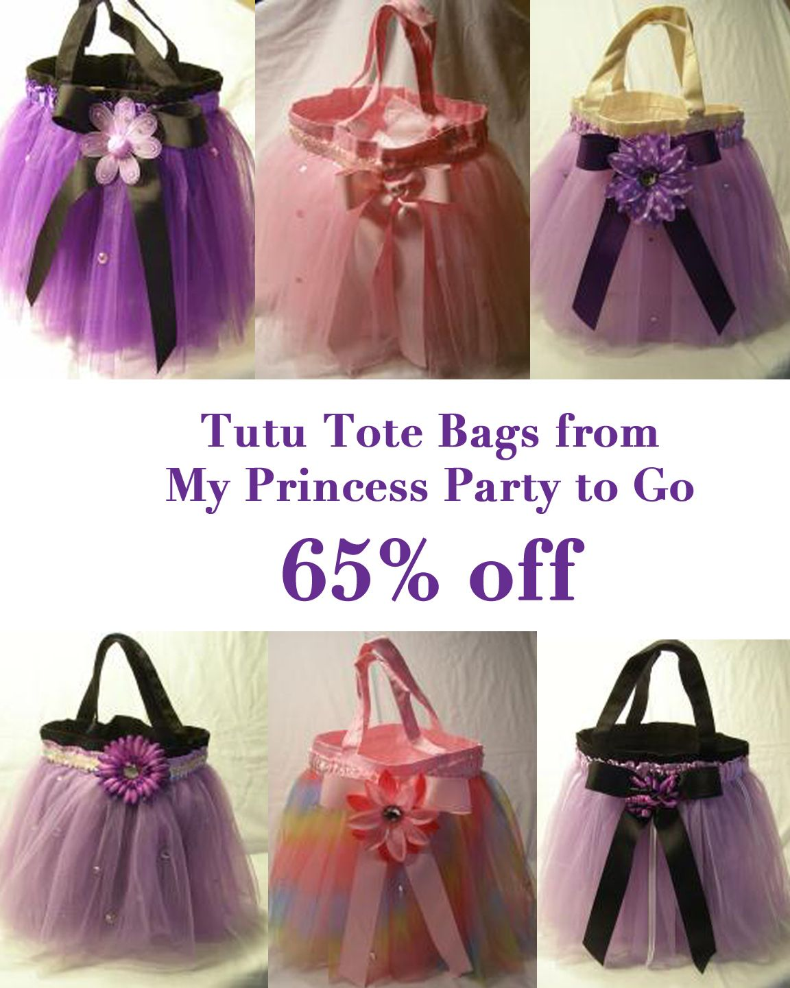 Tutu Tote Bags | carteras | Pinterest | Halloween, Bags and Party ...