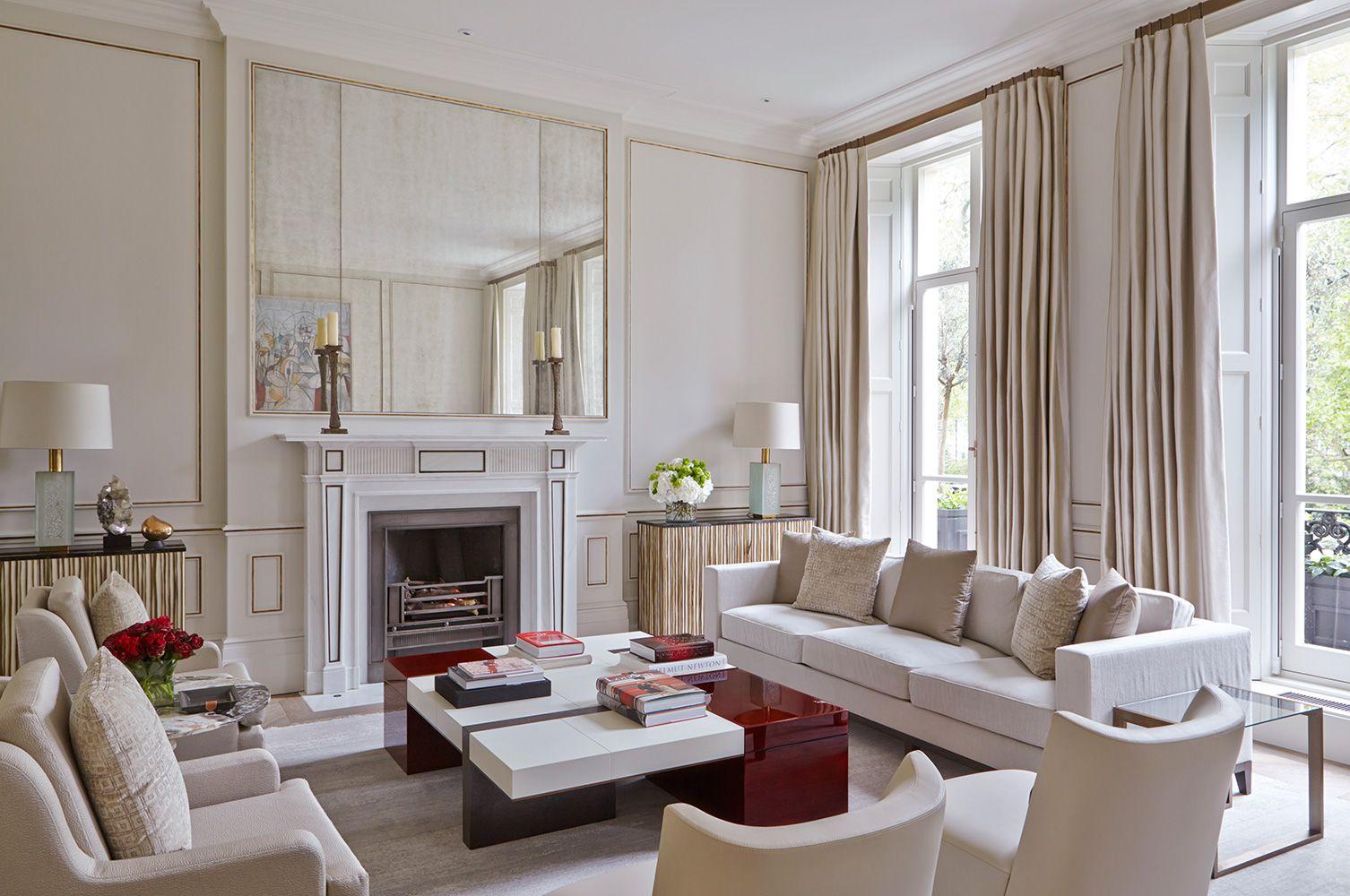 INTERIOR DESIGN LONDON HOUSES BELGRAVIA