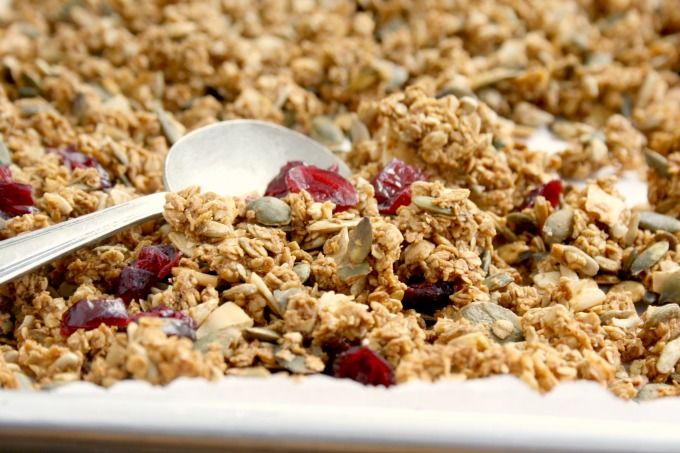 easy applesauce granola | Applesauce, Granola recipes, Granola