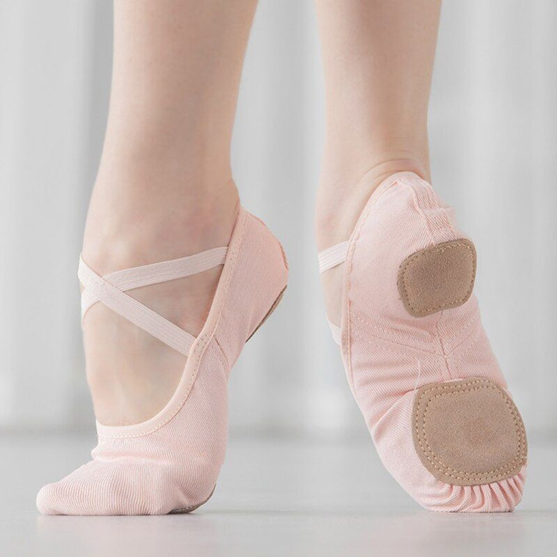 Kid//Girls//Womens Ballet Shoes Canvas Ballet Slippers Dance Shoes