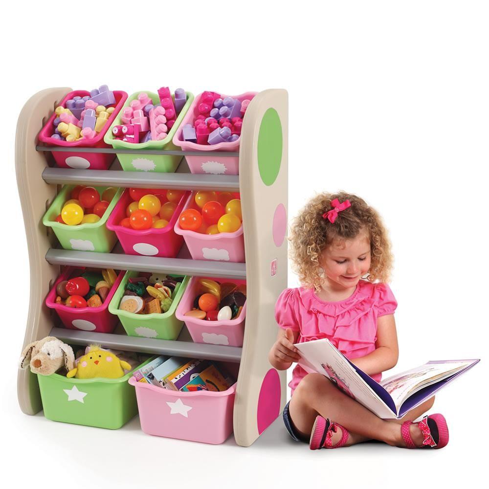 Amazon.com: Step2 Fun Time Room Organizer And Toy Storage ...