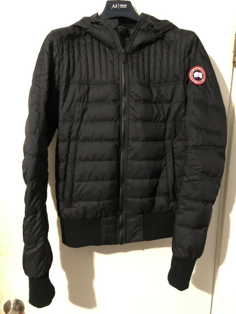 Canada Goose Men S Cabri Hood Down Jacket Coat Small Black Fashion Clothing Shoes Accessories Mensclothing Coatsj Coats Jackets Canada Goose Mens Jackets