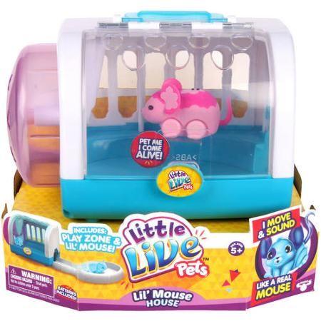 Moose Toys Little Live Pets Season 1 Lil Mouse Cage Set Blossom Walmart Com Little Live Pets Moose Toys Mouse Cage