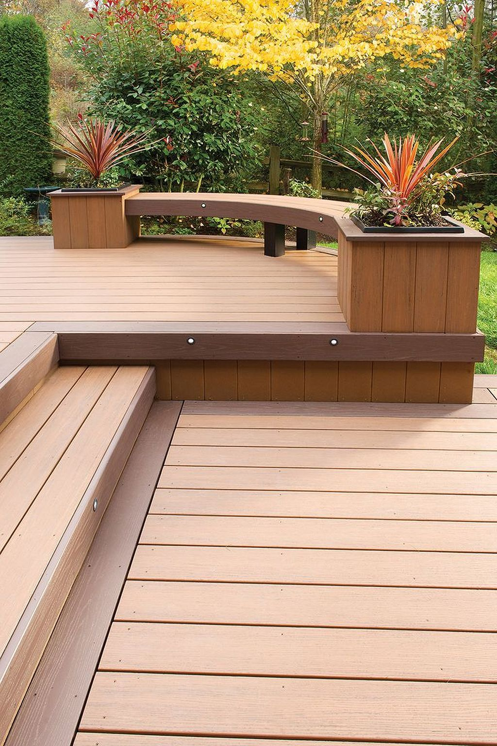 Cool 40 Second Floor Deck Ideas To