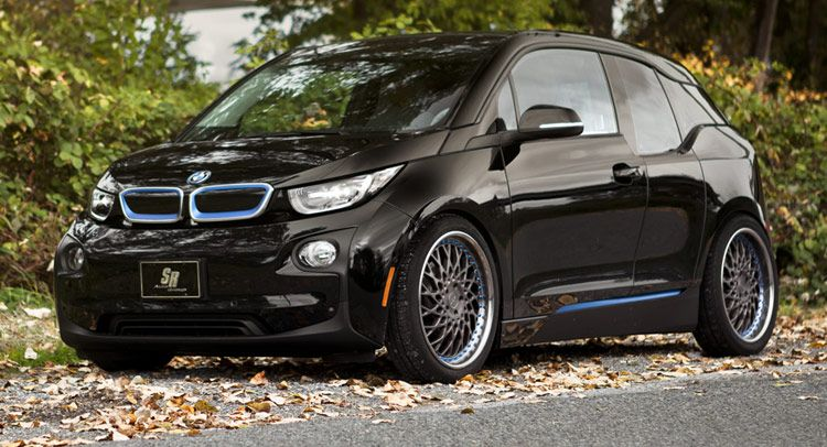 Bmw S Baby I3 Ev Puts On A New Set Of Alloy Shoes Bmw I3 Bmw