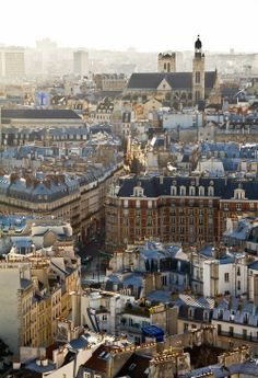 The Rooftops of Paris #FeelGoodSights