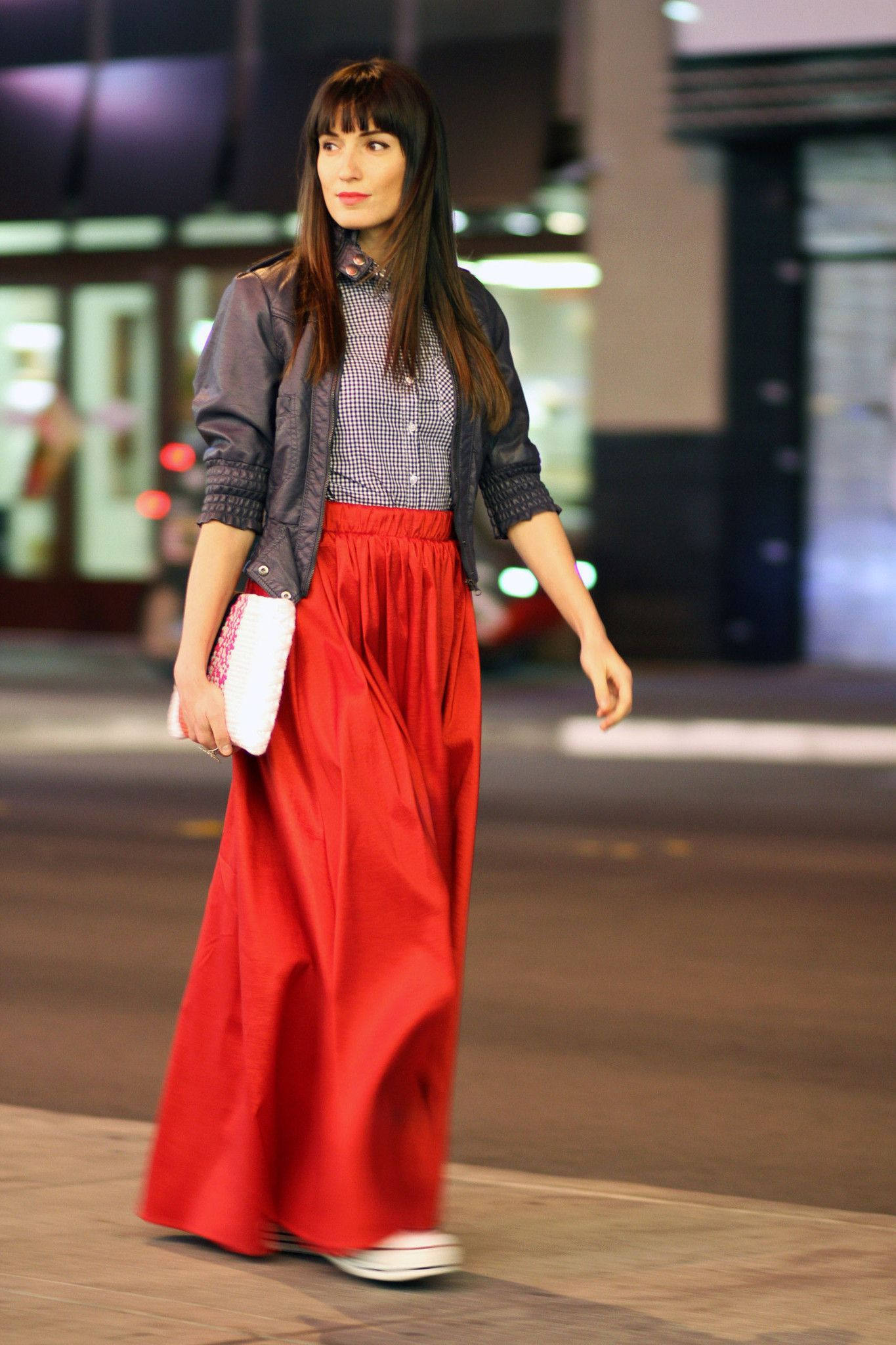 Make a bold statement by wearing red this season style